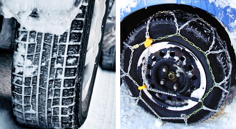catene o pneumatici invernali