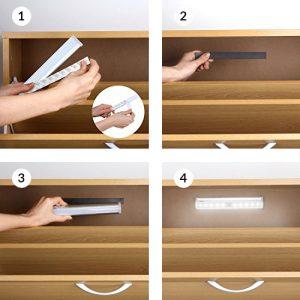 Come illuminare una cabina armadio: idee per una luce perfetta