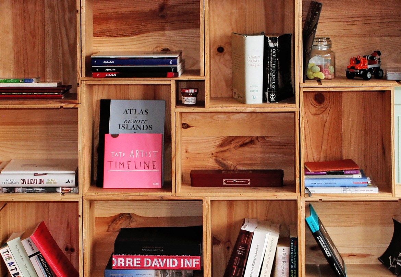 Librerie Fai Da Te Originali Pallet Scale Legno E Altre Idee