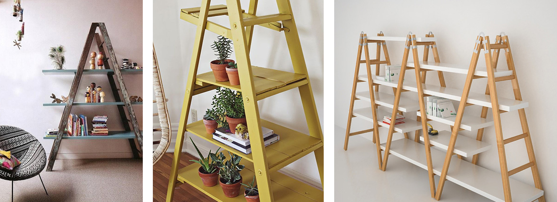Librerie fai da te originali pallet scale legno e altre - Scale per librerie ...