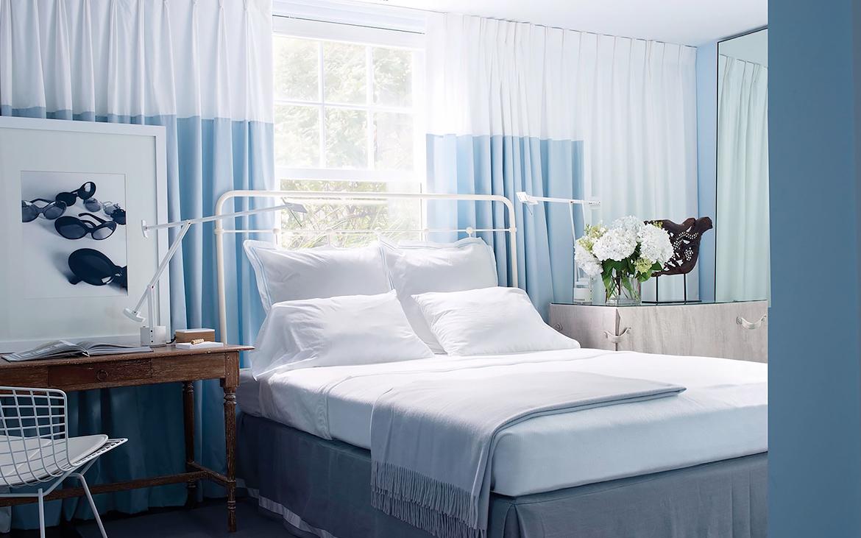 Blu colore pareti