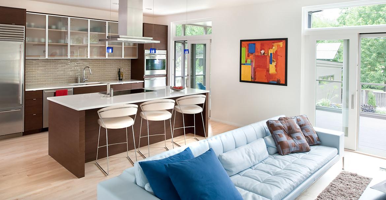 Come arredare una cucina e un soggiorno in un ambiente unico