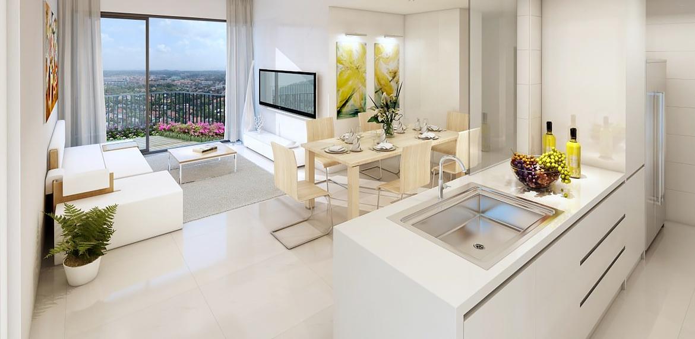 Dividere una stanza in due ambienti parete scorrevole for Sala e cucina insieme
