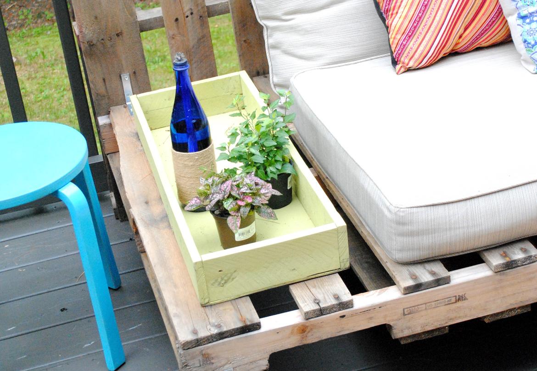 5 idee creative per arredare il giardino con i pallet