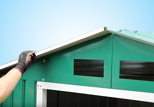 montaggio tetto box