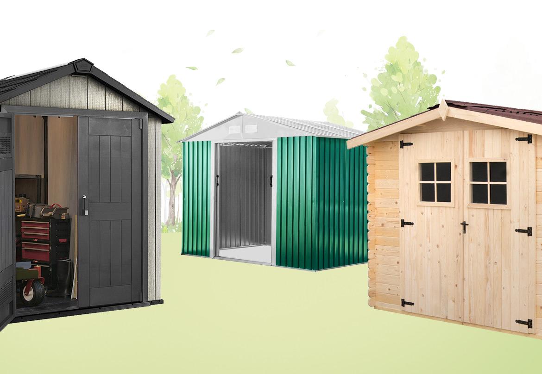 Casette da giardino legno pvc o lamiera - Tipo di cesoie da giardino ...