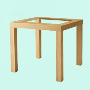struttura cuccia in legno