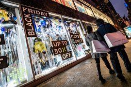 black friday week negozi shopping