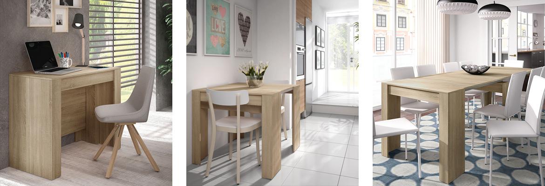 tavolo consolle design legno allungabile