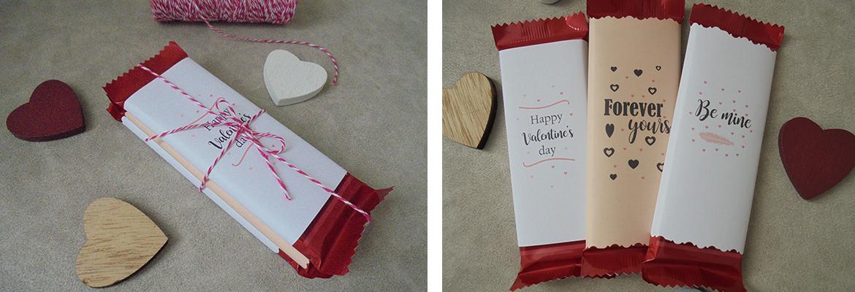 idea carta cioccolato san valentino