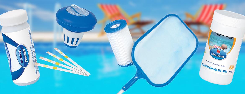 Prodotti cattivo odore piscina