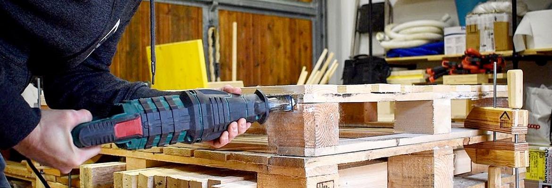 pancalaio matto lavorare pallet legno