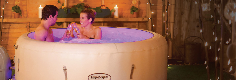 piscina spa luce led riscaldata idromassaggio