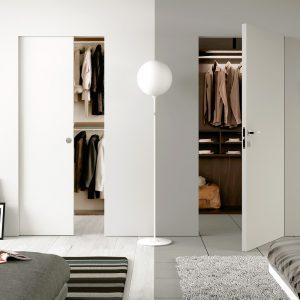 cabina armadio in cartongesso camera da letto