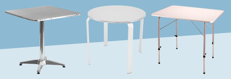 tavoli alluminio