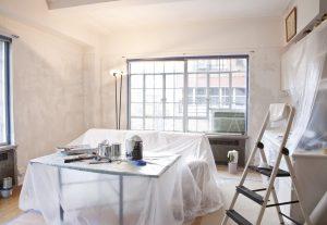 imbiancare casa pareti protezione mobili
