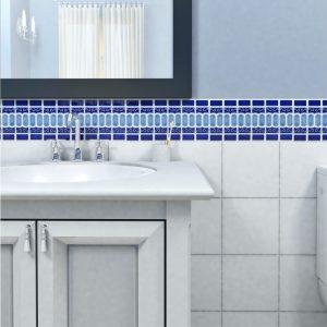abbinamento colore pareti casa interni muro bagno