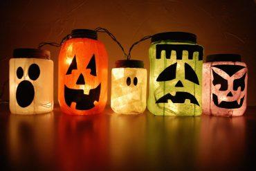 idee creative halloween decorazioni casa bambini