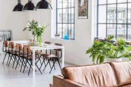 industrial chic arredamento stile casa moderno fabbrica