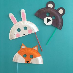 idee creative halloween decorazioni casa bambini piatti carta animali
