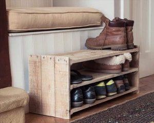 scarpiera fai da te su misura costruire legno