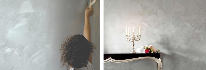 varie tecniche di pittura parete casa vernice muri pittura spatolato