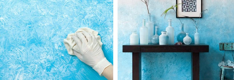 varie tecniche di pittura parete casa vernice muri pittura taponato