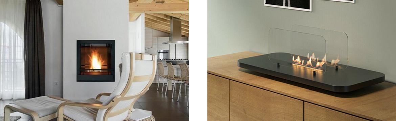 biocamino tavolo e parete