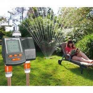 computer irrigazione giardino
