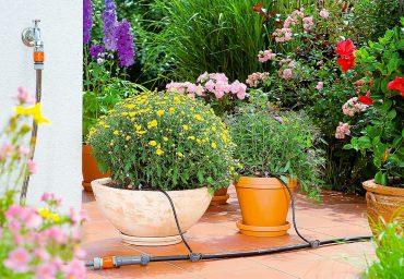 micro irrigazione vasi