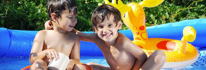 piscine giardino bambini